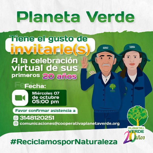 Planeta Verde Celebra sus primeros 20 años